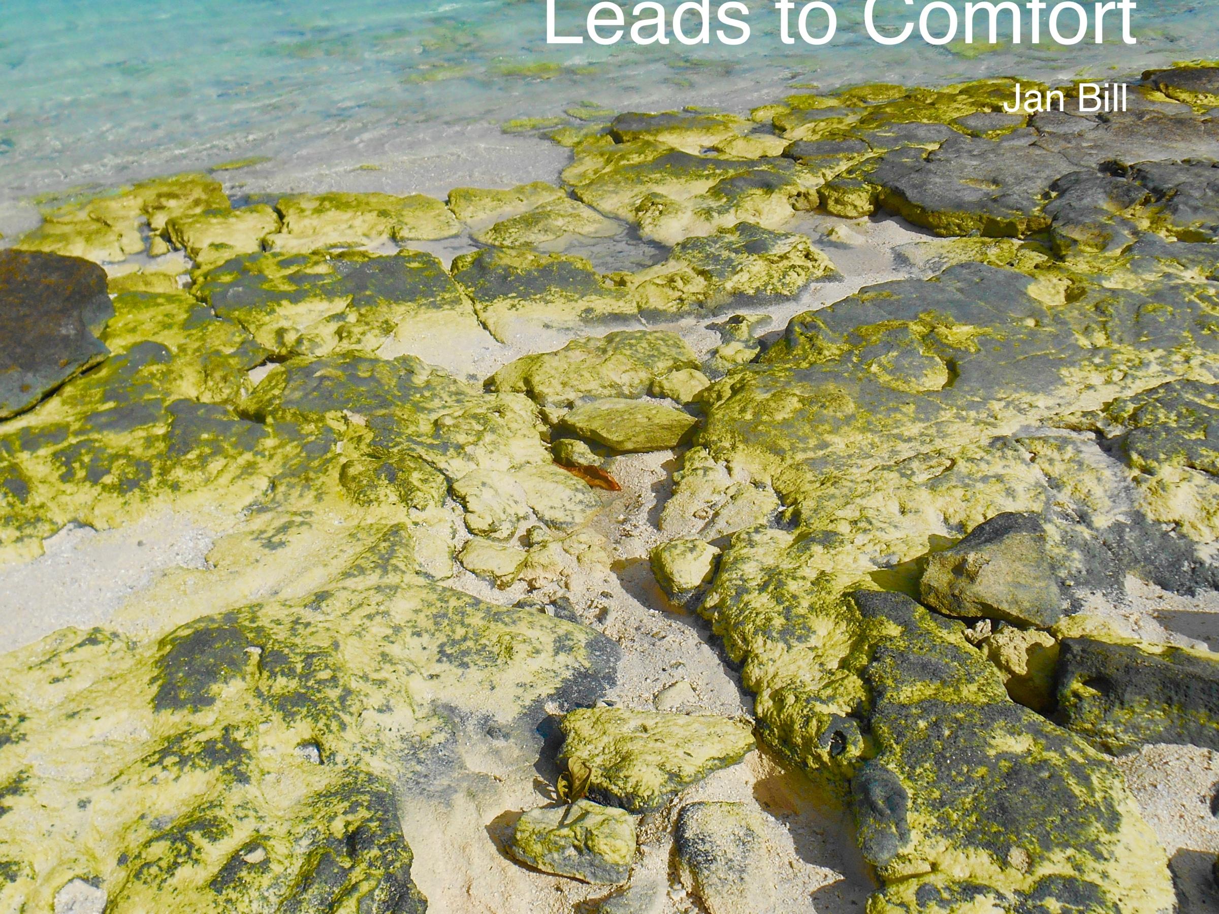 image of yellow rocks in the ocean in Tahiti