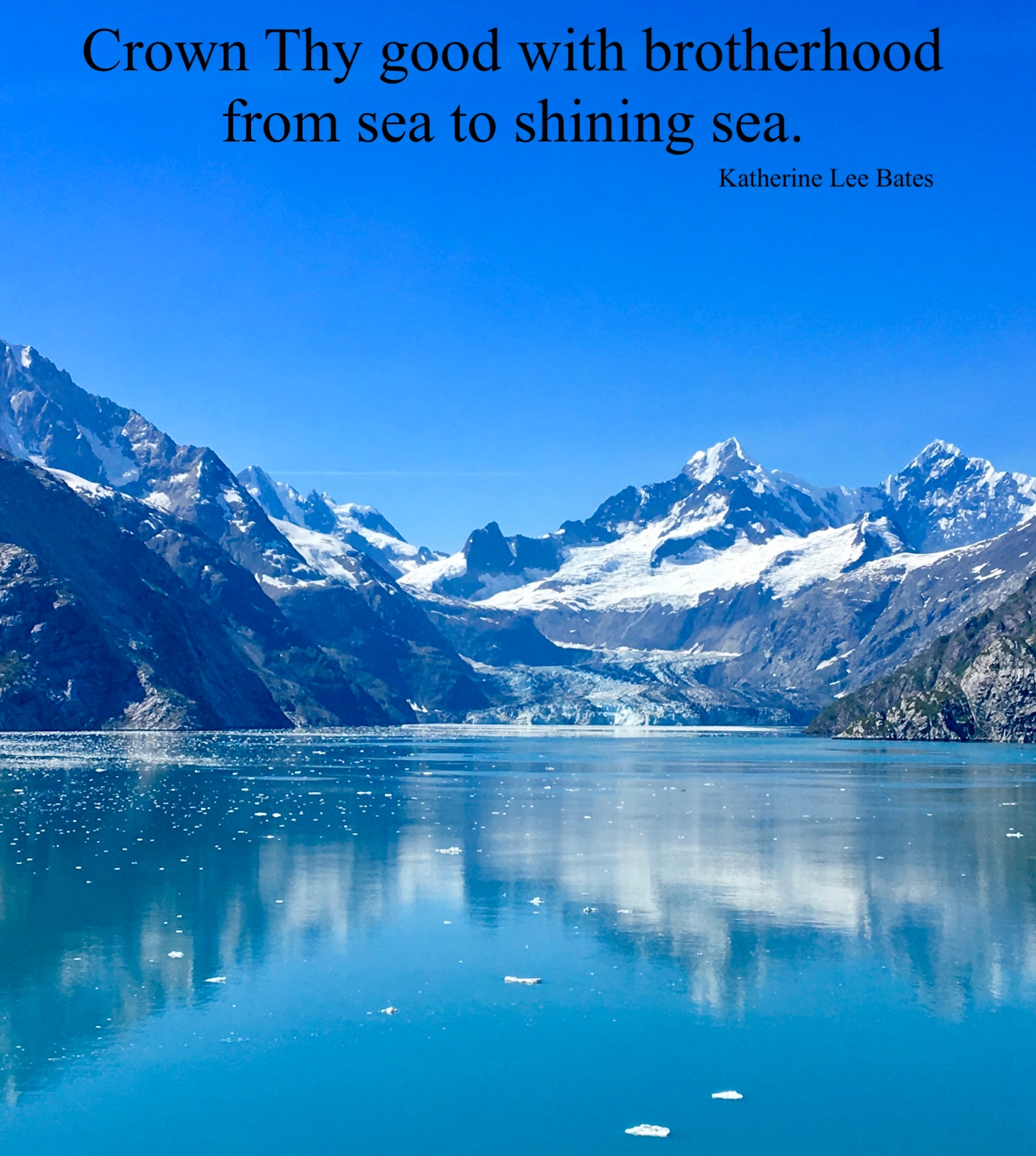 image of Glacier Bay in Alaska