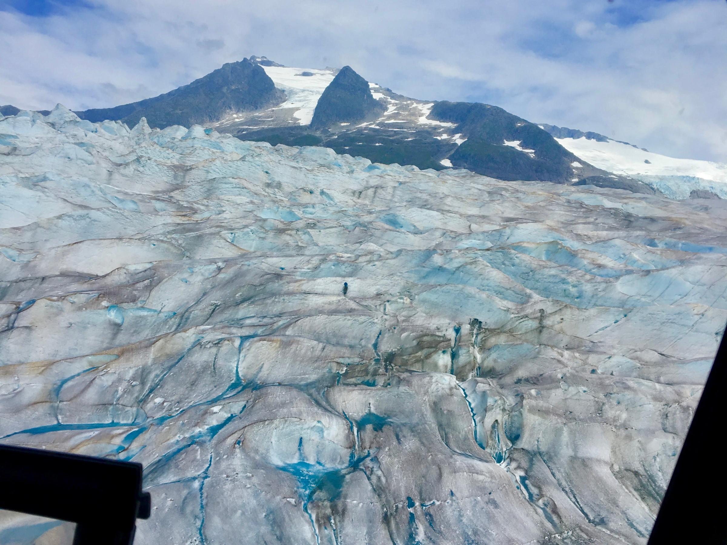 image of Mendenhall Glacier in Alaska