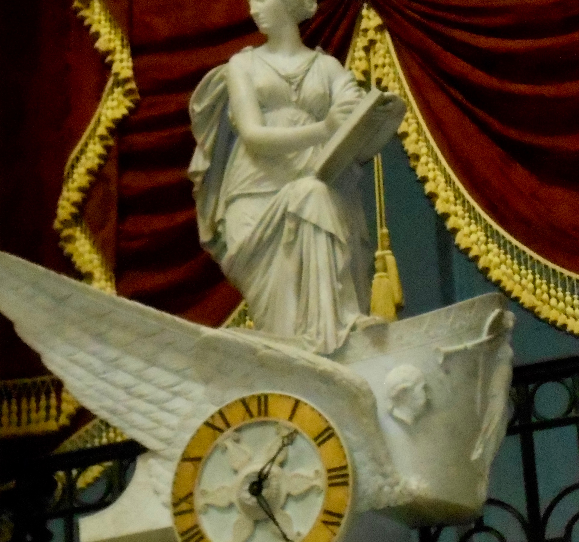 image of a Goddess sculpture on Capitol Hill