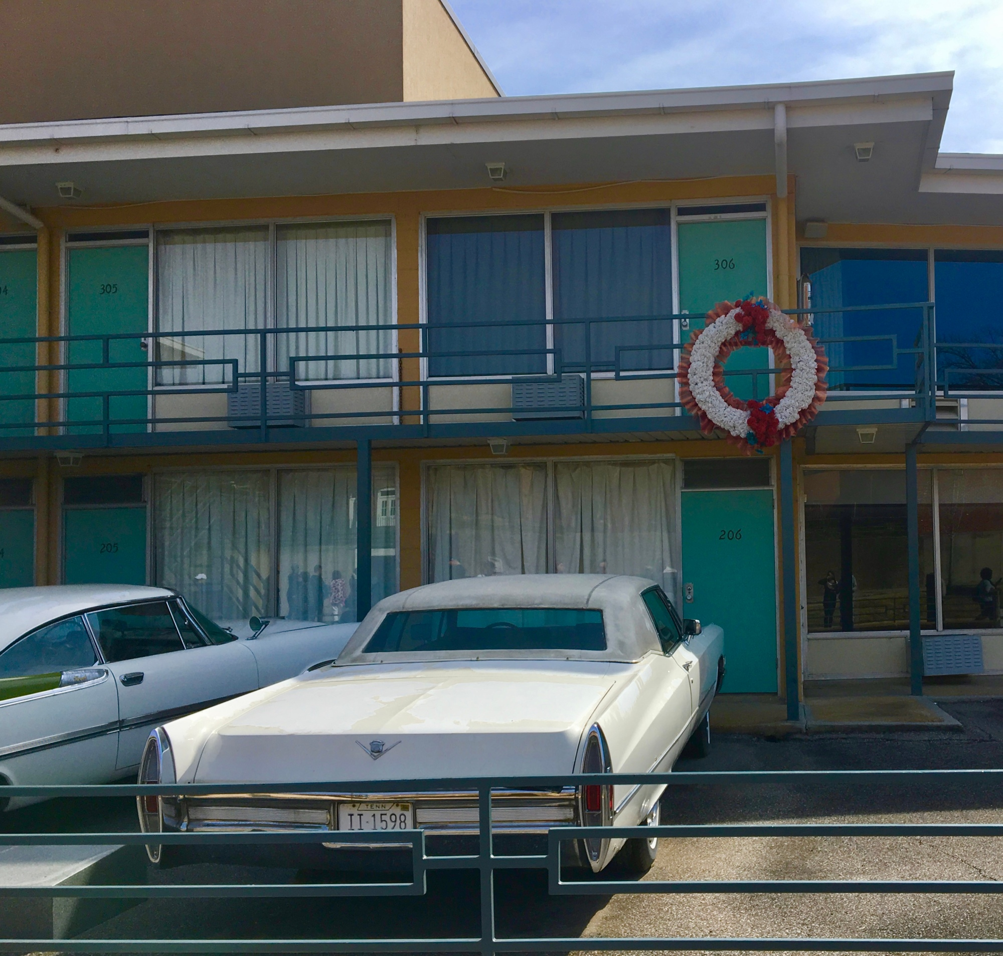 image of the Lorraine Hotel at Dr. Martin Luther King, Jr. museum