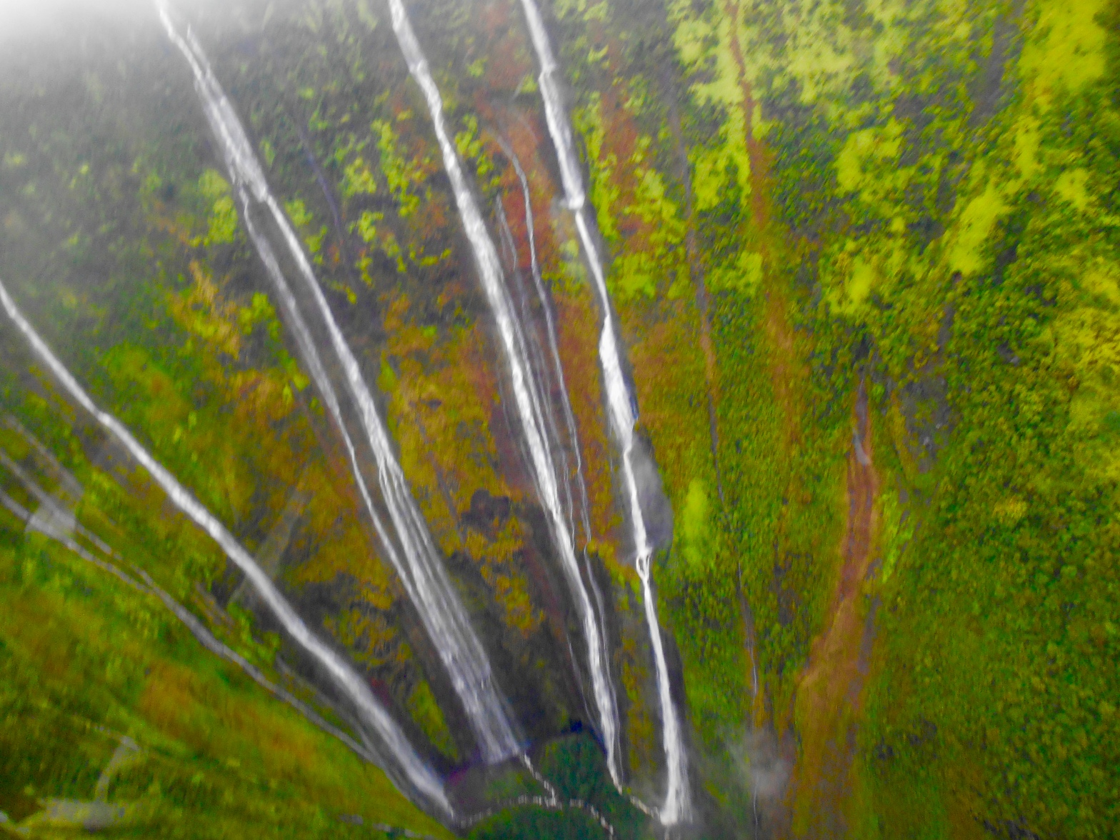 image of waterfall in Maui, Hawaii