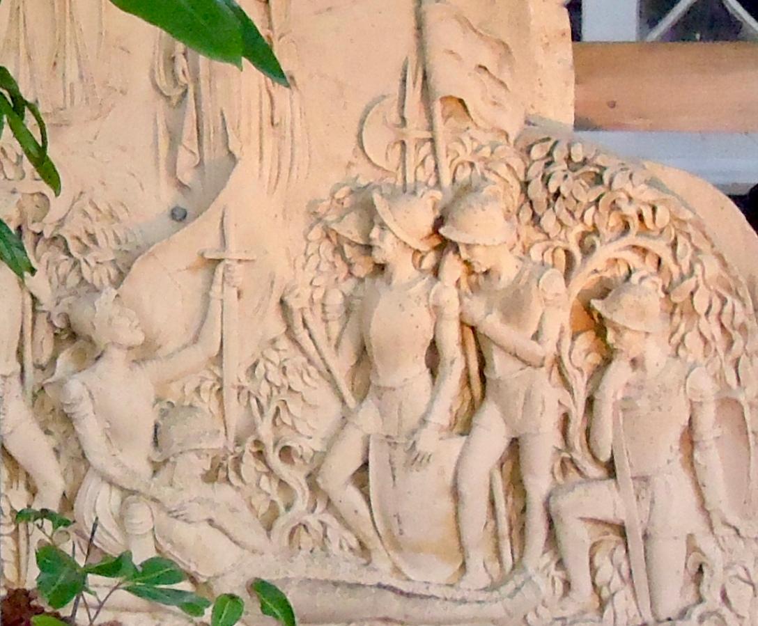 Ponce de Leon battle stele